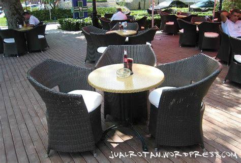 Kursi Cafe Rotan kursi rotan murah kerajinan rotan jual rotan furniture rotan