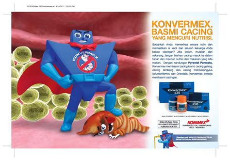 Obat Cacing Konvermex Tablet konvermex konimex pharmaceutical laboratories