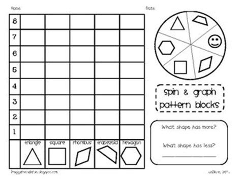 pattern block smartboard activities data collection picmia