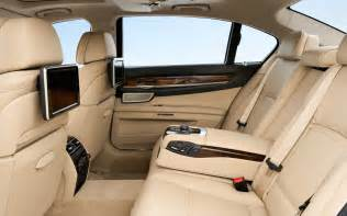 2013 bmw 7 series interior back seat photo 4