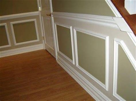 chair rail with picture frame two tone picture frame wainscoting chair rail and