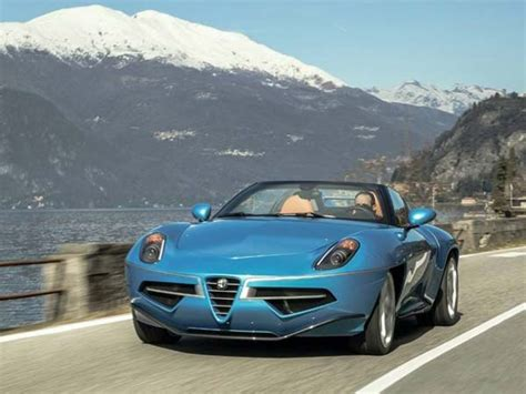 alfa romeo disco volante spider alfa romeo disco volante spider revealed ahead of geneva