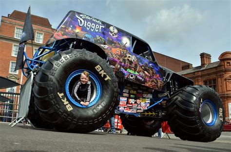 what time does the monster truck show start look inside monster jam s son uva digger as it roars into