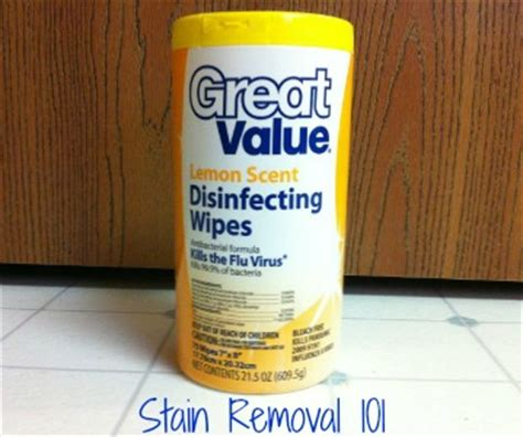 walmart great  disinfecting wipes review lemon scent