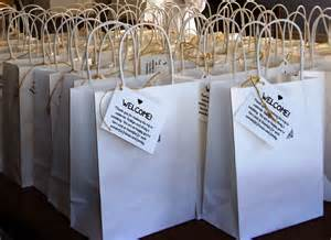 welcome bags for weddings lovely ache wedding welcome bags for out of town guests