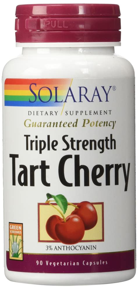 Does Tart Cherry Detox by Solaray Total Cleanse Uric Acid 60 Vegetarian