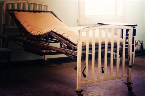 free hospital beds old hospital bed free stock photo public domain pictures