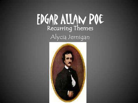 recurring themes in poe s stories edgar allan poe