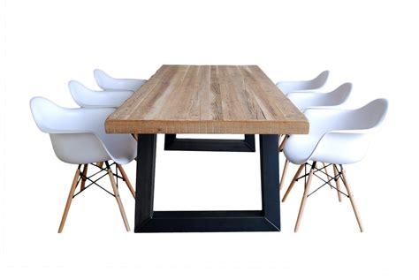 eames stoel friesland woonloods1 industri 235 le eettafel met eames daw stoelen