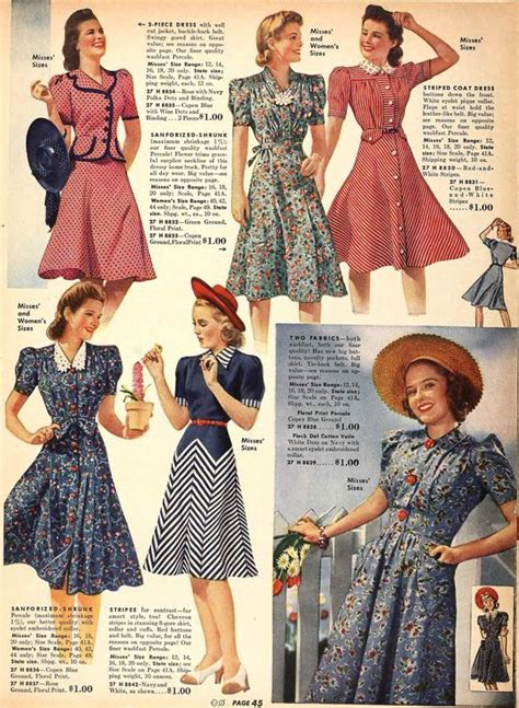 swing style mode 20th century fashion history 1940 1950 the fashion folks