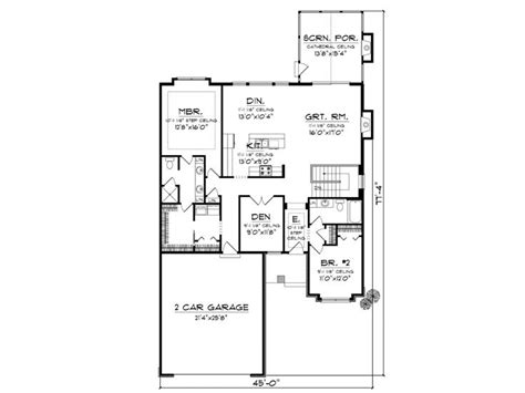 empty nester floor plans empty nester house plans affordable empty nester home