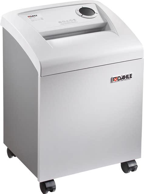 paper shredder cross cut dahle 40114 cross cut paper shredder abe online