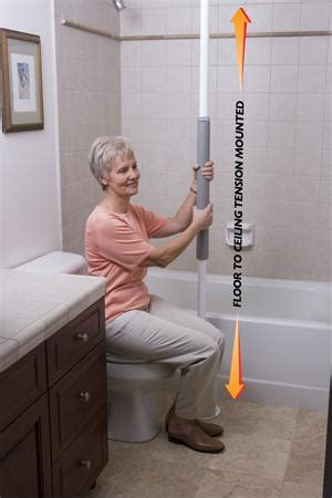 bathroom safety for seniors senior home care safety products