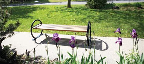 park bench rehab backless recycled plastic park bench cab 824 canaan