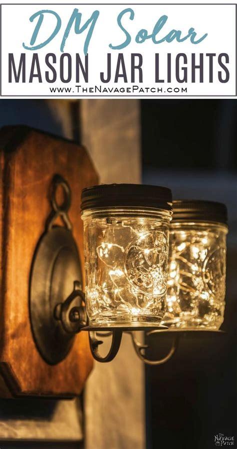 diy jar solar lights diy jar lights solar diy design ideas