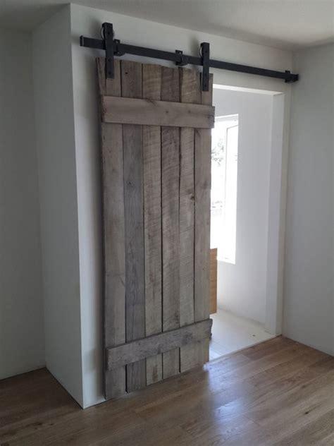 rustic reclaimed interior barn doors