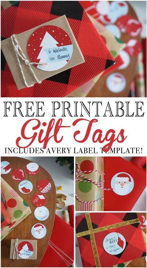 beautiful label templates  gift tags  pinterest