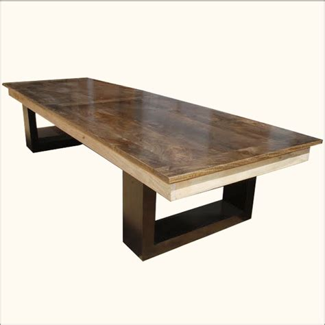 hardwood dining room table large contemporary solid hardwood dining room table 6