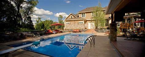 Backyard Pools Mn Minnesota Swimming Pool Design Southview Design