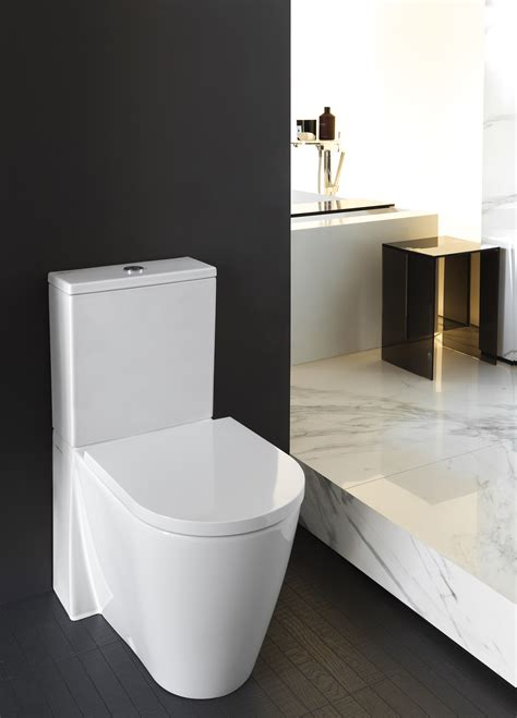 toilette bidet kombi kartell by laufen floor standing wc combination rimless by