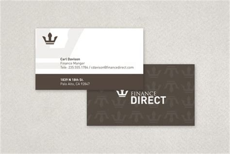 financial company business card template finance company business card template inkd