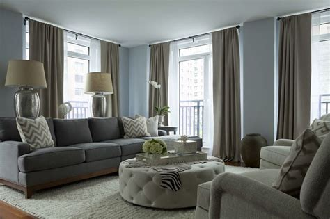 Taupe And Grey Living Room using taupe to create a stylish family friendly living room