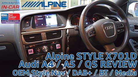 audi    navigation retrofit alpine xd youtube