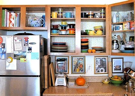 kitchen cabinets without doors 10 easy ways to give your rental kitchen a makeover 6sqft