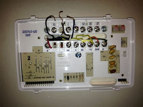 Honeywell Water Heater wiring a thermostat to pellet stove heating thermostat