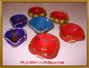 Diya Decoration For Diwali At Home My Hobbies And Crafts Diya Decorations