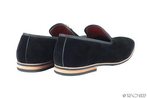 mens suede tassel loafers new mens suede leather gold shark tooth tassel loafers