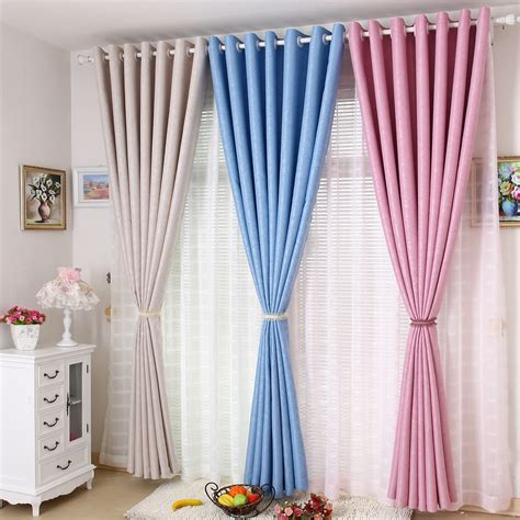 cream colored blackout curtains cream colored curtains promotion online shopping for