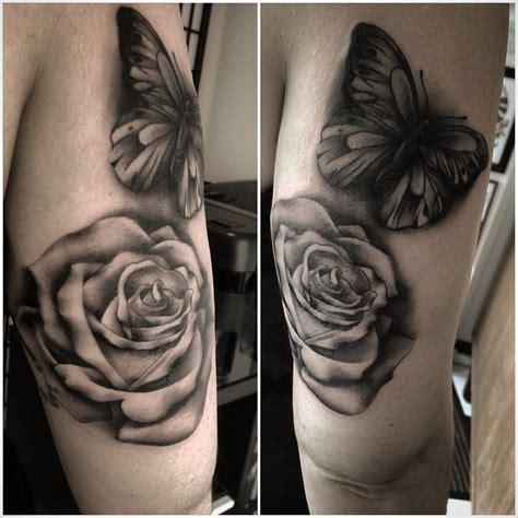 black amp grey tattoos tattoos by hai