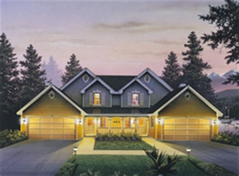 Multi Family Home Plans   House Plans and More