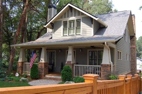 Four Gables House Plan a new craftsman bungalow with historic charm