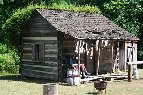 Cabin Plans With Porch hillbilly shack flickr photo sharing