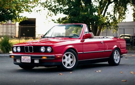 1990 90 bmw 325i convertible vert e30 auto new top catuned