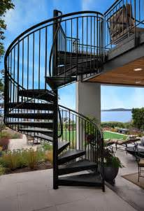 outside stairs design what you need to know about spiral staircases