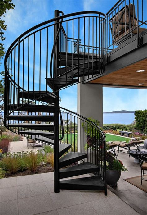 outdoor staircase design what you need to know about spiral staircases