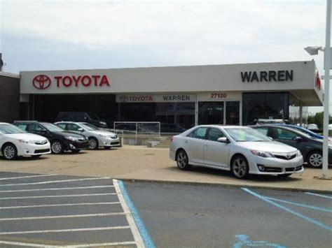 Toyota Warren Warren Toyota Warren Mi 48093 7210 Car Dealership And
