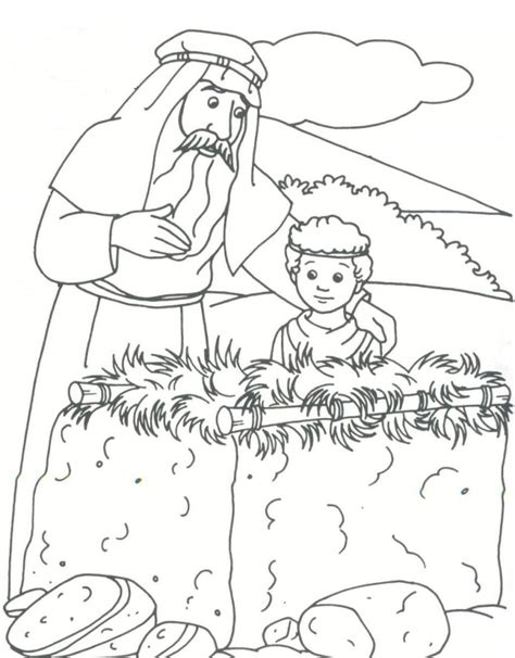 coloring pages for bible stories bible story abraham coloring pages for drawing