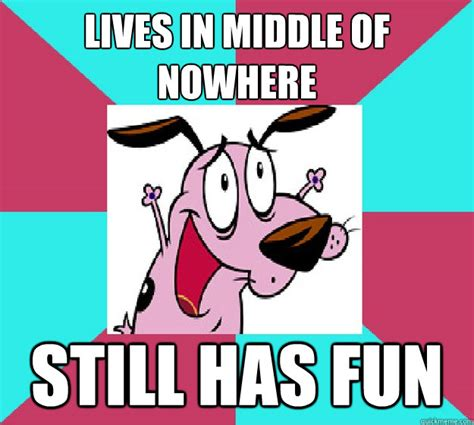 Courage The Cowardly Dog Meme - success courage the cowardly dog memes quickmeme