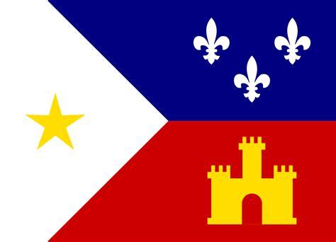 file flag of acadiana svg
