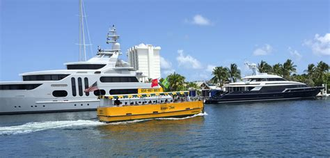 florida in water boat shows 10 for water taxi to boat show fort lauderdale on the cheap