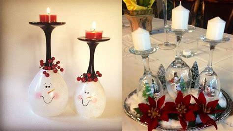 imgenes de adornos de navidad con material de provecho centro de mesa con copas diy decoraci 243 n navidad