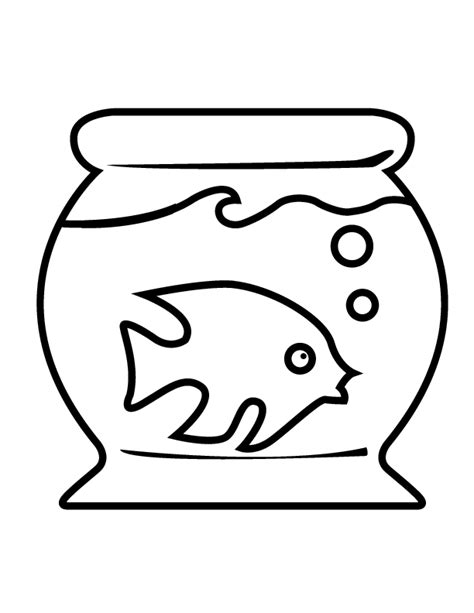 Free Coloring Pages Of Fish Bookmarks Fish Tank Coloring Pages