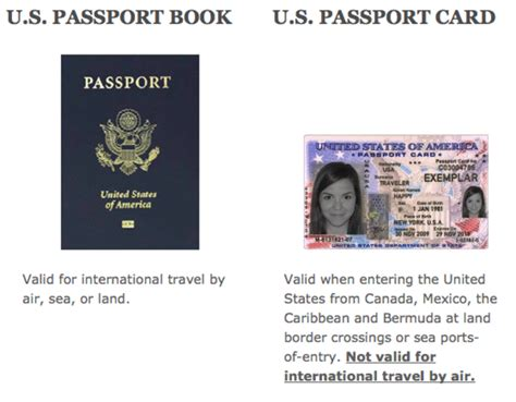 passport to books u s passport card passportsonline org