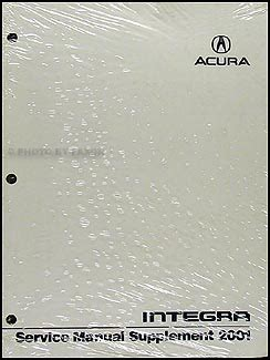 service manual 2001 acura integra workshop manuals free pdf download vw polo 2001 service 2001 acura integra repair shop manual original supplement