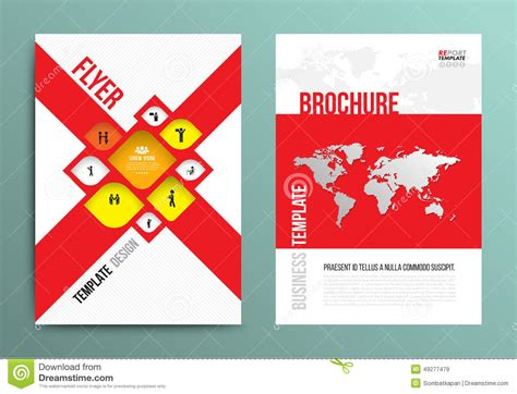 a4 brochure layout design vector brochure flyer design layout template in a4 size
