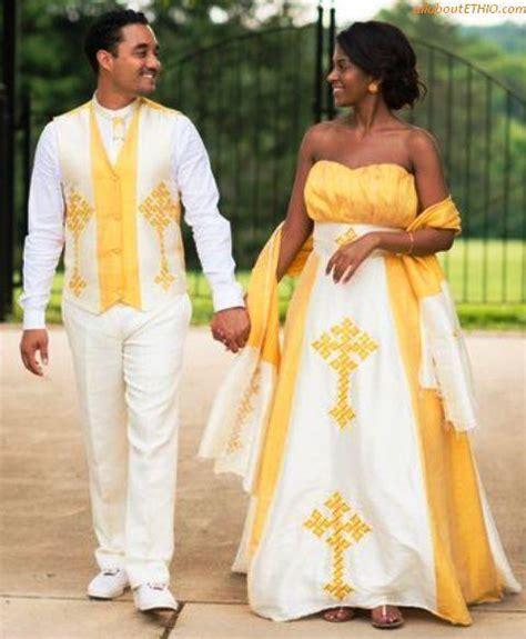 13 of the Best Ethiopian Traditional Wedding Clothes for